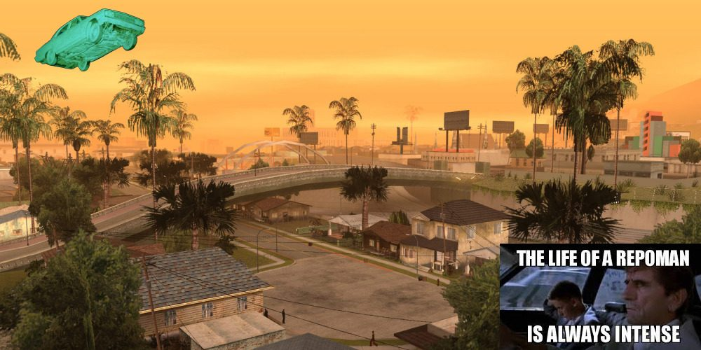 the life of grand theft auto is always intense!