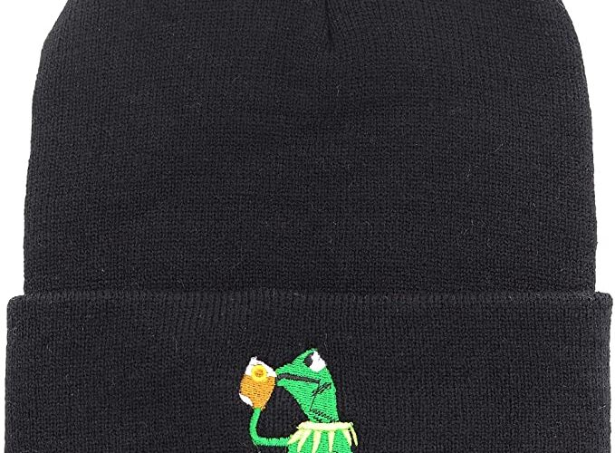Kermit_Beanie