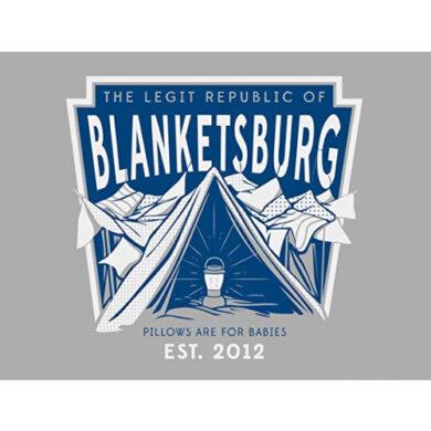 Republic of Blanketsburg wall poster
