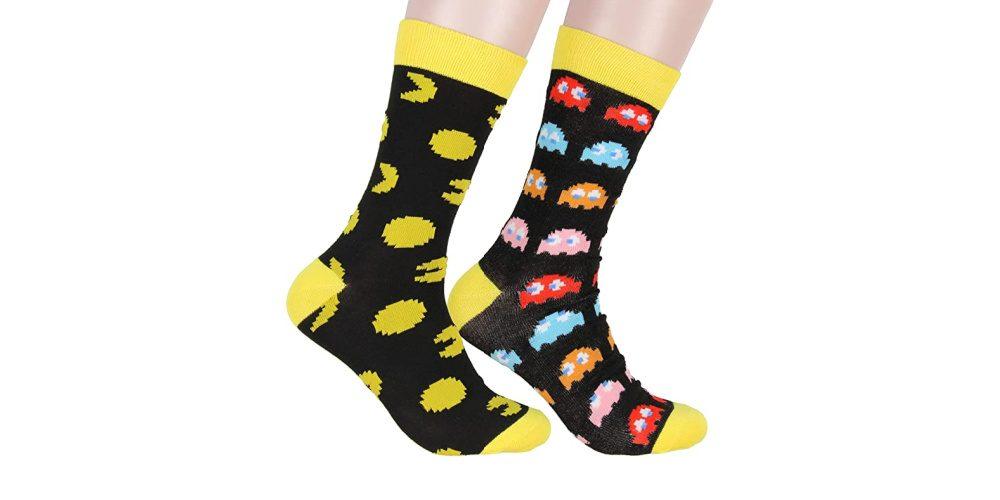 Nintendo_Pac-Man_Maze_Arcade_2_Pack_Crew_Socks