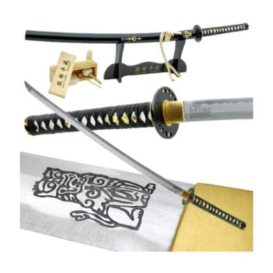 Handmade_Kill_Bill_Brides_Samurai_Katana_Sword_Leather_Handle