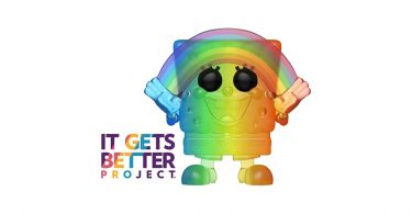 It gets better Spongebob Squarepants Funko Pop Pride 2020