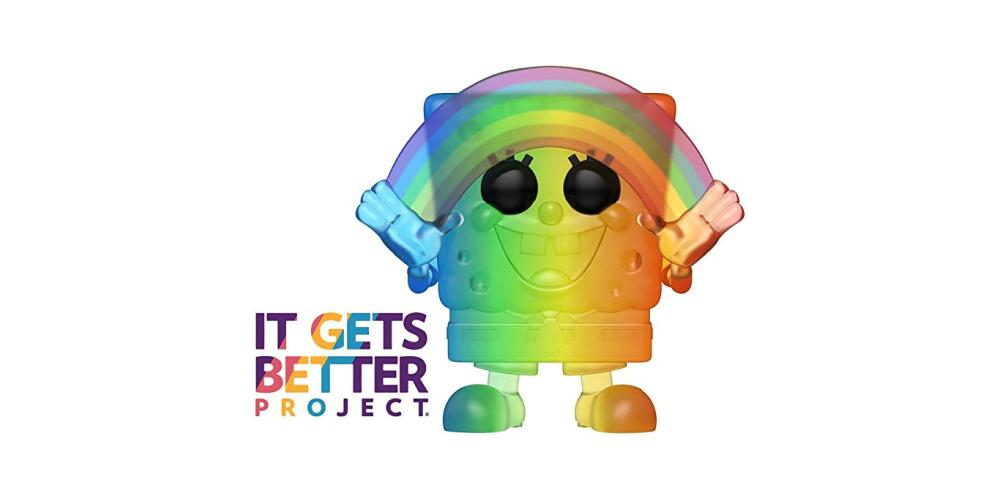 It gets better Spongebob Squarepants Funko Pop Pride 2020