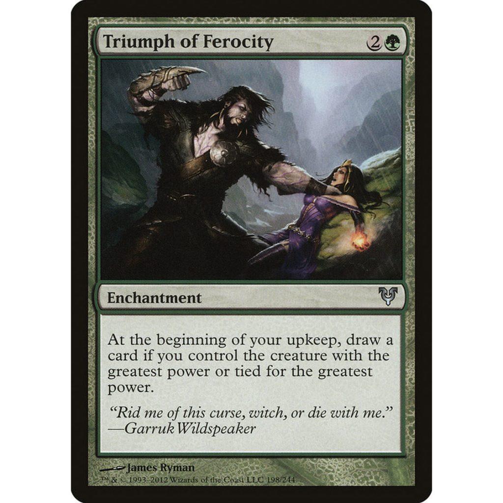 MTG_Triumph-of-Ferocity