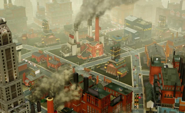 SimCity-pollution
