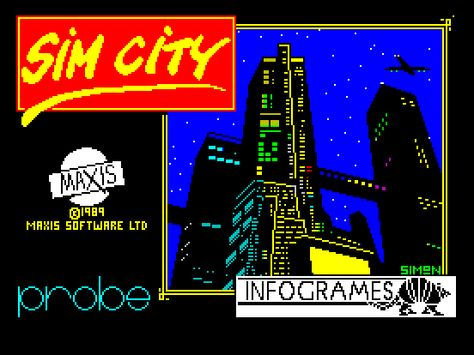 SimCity_ZX Spectrum
