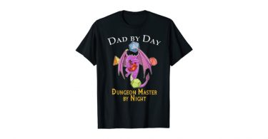 dungeon master geek dad shirt