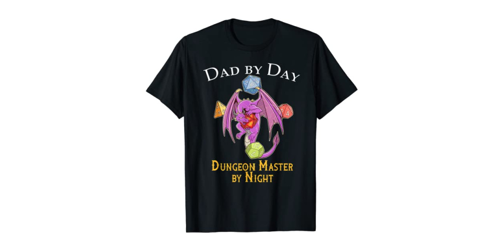 dungeon master geek dad shirt