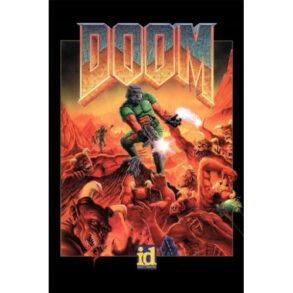 DOOM_I_and_DOOM_II_Video_Game_Posters