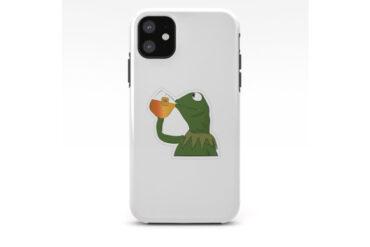 Kermit-Sips-Tea-Phone-Case