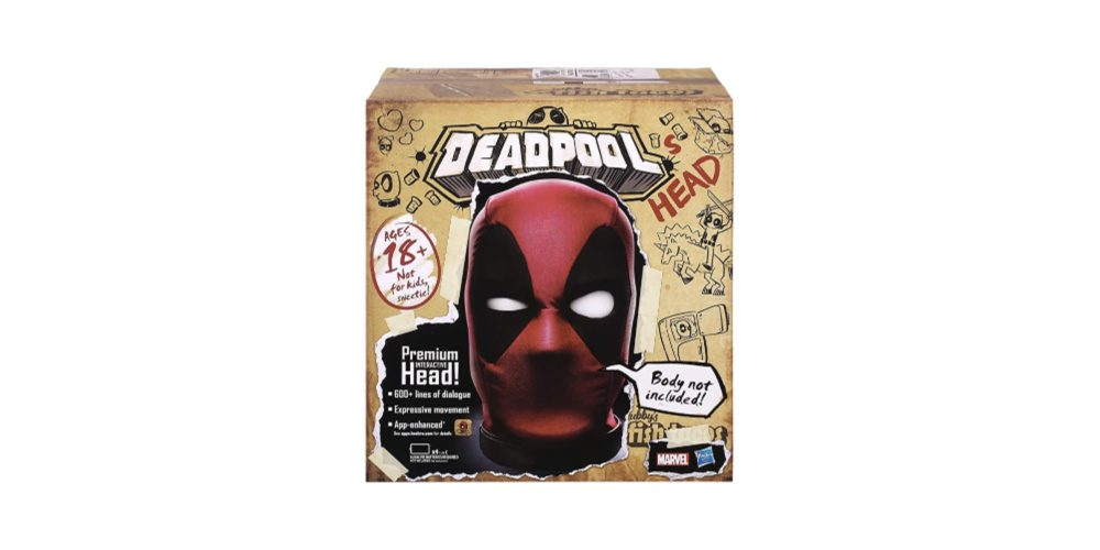 Deadpool Electronic Talking Head