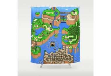super-mario-world-shower-curtain