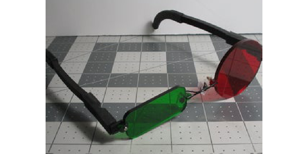 Akujinscos_Red_Circle_Green_Rectangle_Cosplay_Glasses