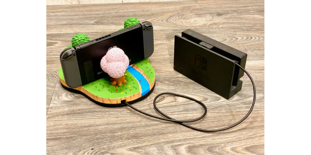 Animal_Crossing_Island_Nintendo_Switch_Dock_3D_Print_New Horizons_3