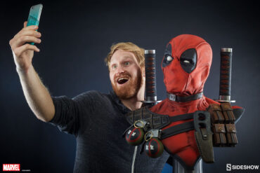 Deadpool Life Size Bust Model