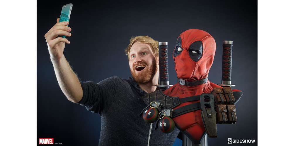 Deadpool Life Size Bust Model