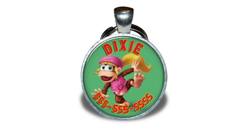 Dixie_Kong_Pet_Dog_Cat_Tag_Gaming
