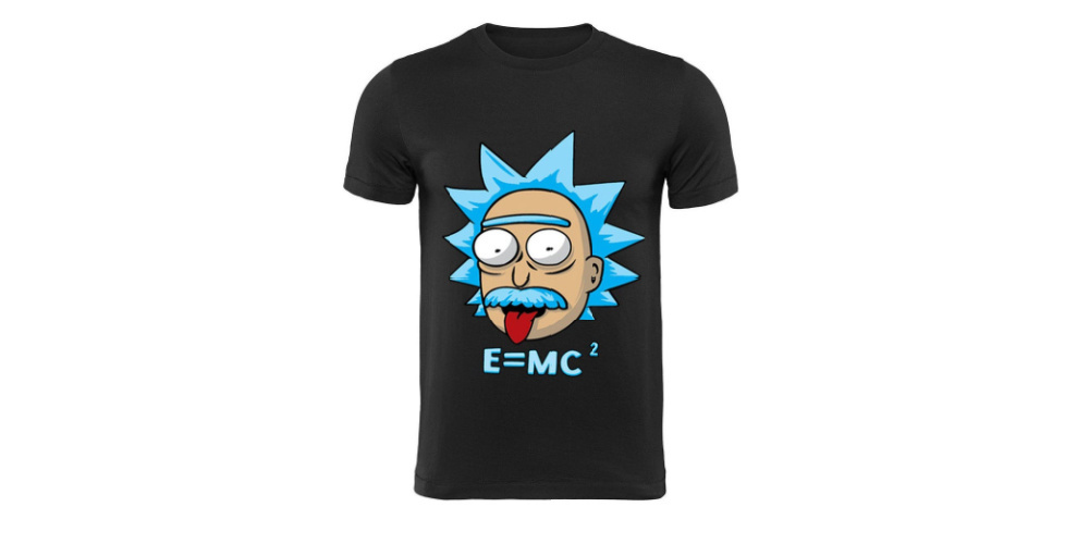 Rick and Morty Einstein T-Shirt