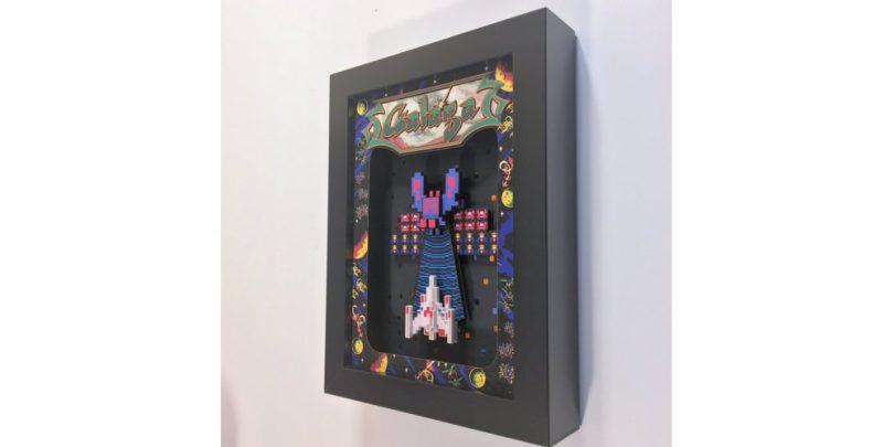 Galaga_Arcade_3D_Shadow_Box
