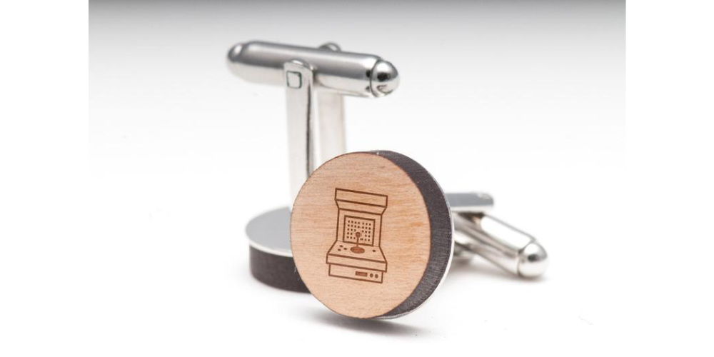Gaming_Arcade_Wooden_Cuff_Links