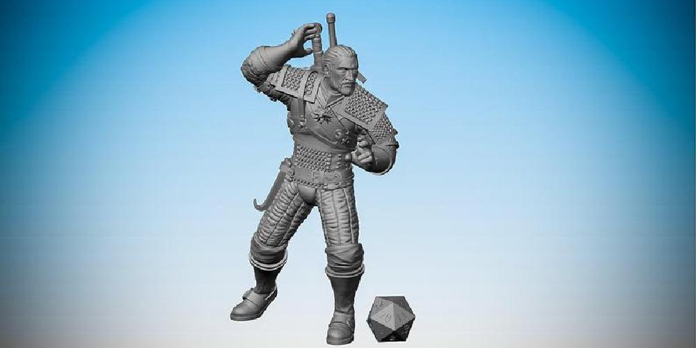 Geralt_of_Rivia_3D_Printed_Figure