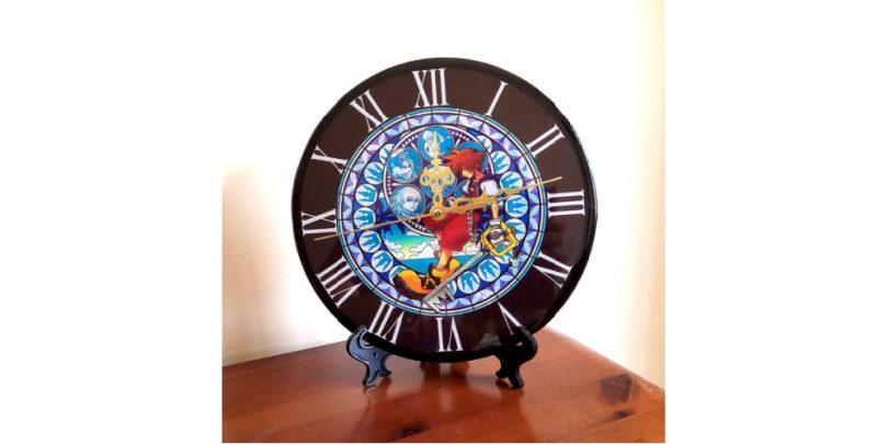 Handmade_Kingdom_Hearts_Sora_Clock