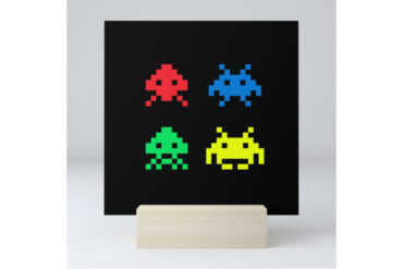 Space Invaders Mini Art Print