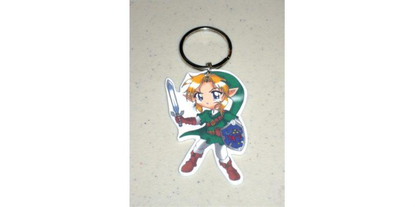 Link- Legend_of_Zelda_Keychain_Charm_Necklace
