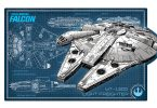 Millennium Falcon Tin Decor