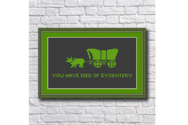 Oregon_Trail_Dysentery_Cross_Stitch_Pattern