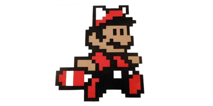 Racoon_Super_Mario_3_Wooden_Decor