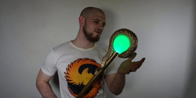 Sphintus_Nikamen_staff_replica_cosplay
