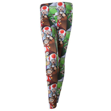 Super Mario Character All Over Print Leggings