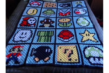 Super_Mario_Bros_Crochet_Blanket_Pattern