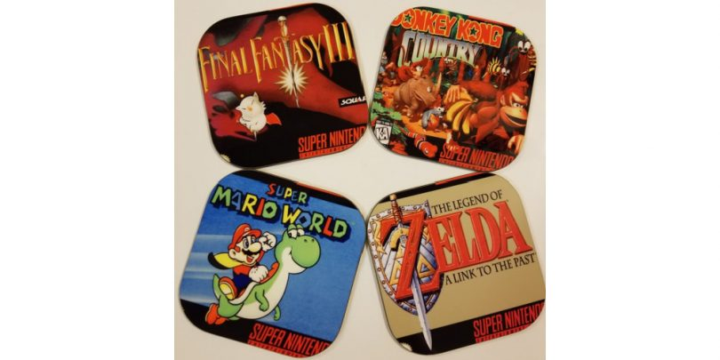 Super_Nintendo_Coasters_Zelda_Mario_Donkey_Kong_Final_Fantasy