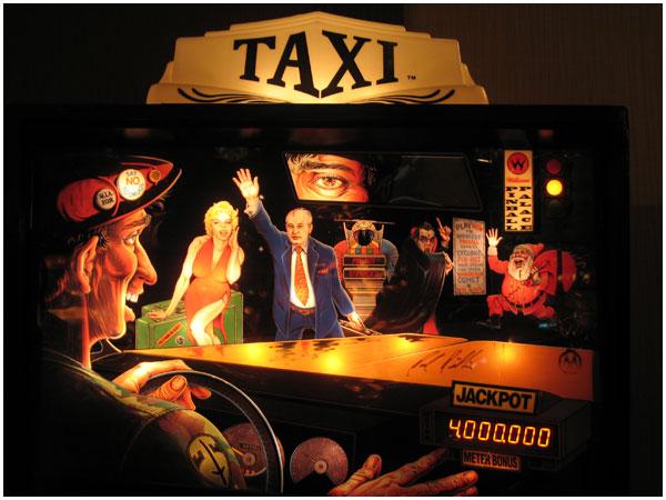 Taxi_pinball_game_backboard