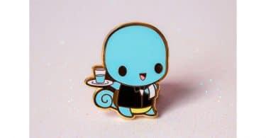 Pokemon: Waiter Squirtle Hard Enamel Pin