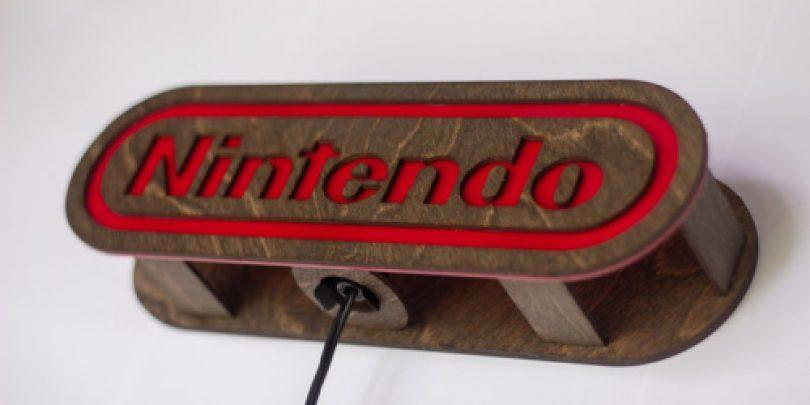 Wooden_Arcrylic_Nintendo_Logo_Light