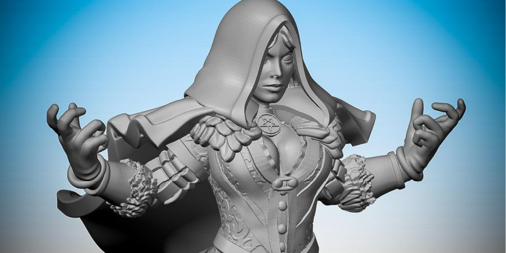Yennefer_the_Witcher_3D_Printed