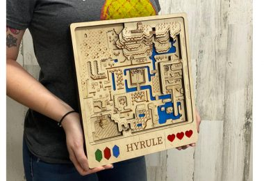 Zelda_Hyrule_3D_Map