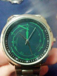 Dark hour watch