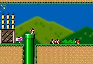 Flash_games_Super_Mario_World_Flash