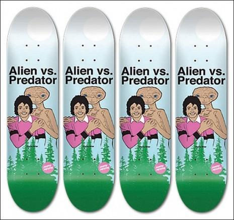 Michael_Jackson_Alien-vs-Predator_skateboards