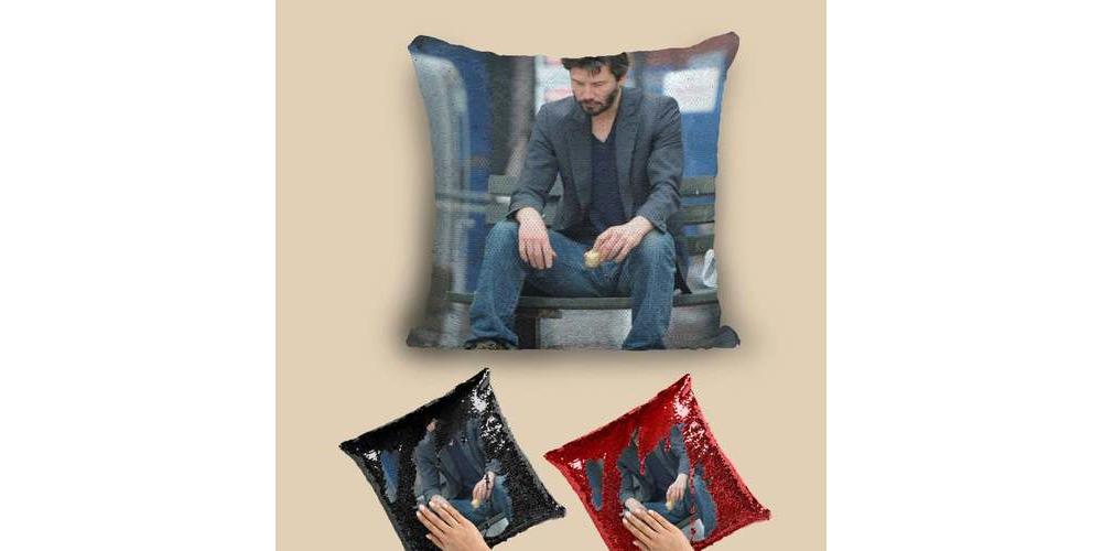 Sad_Keanu_Reeves_Sequin_Pillow