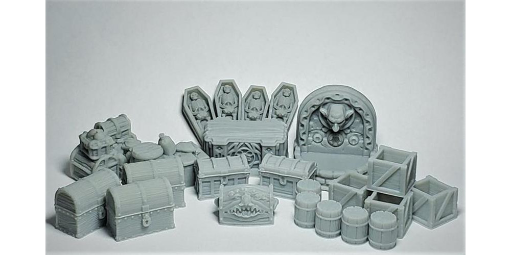 DandDmerch-25pc_RESIN_dungeon_dressing_scatter_-_32mm_Miniature