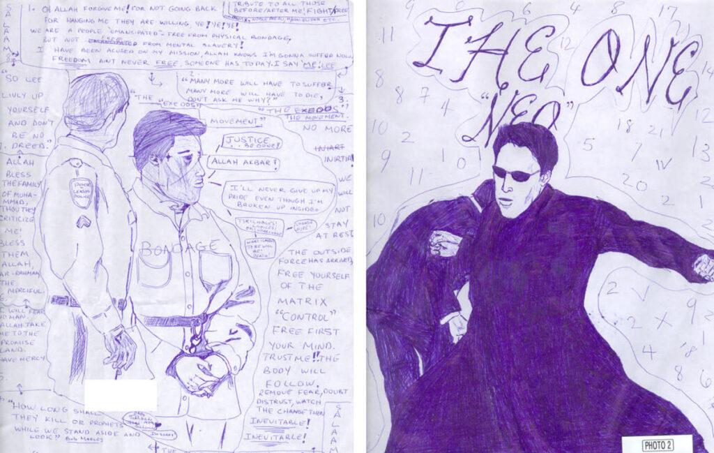 Lee_Malvo_Matrix_drawings