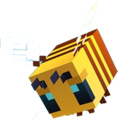 Minecraft-Bee_Artwork