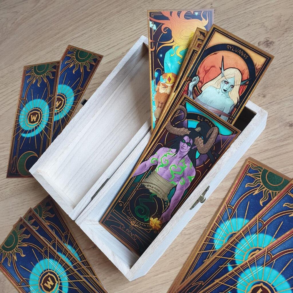 Art_Nouveau_Style_World_of_Warcraft_Tarot_Deck