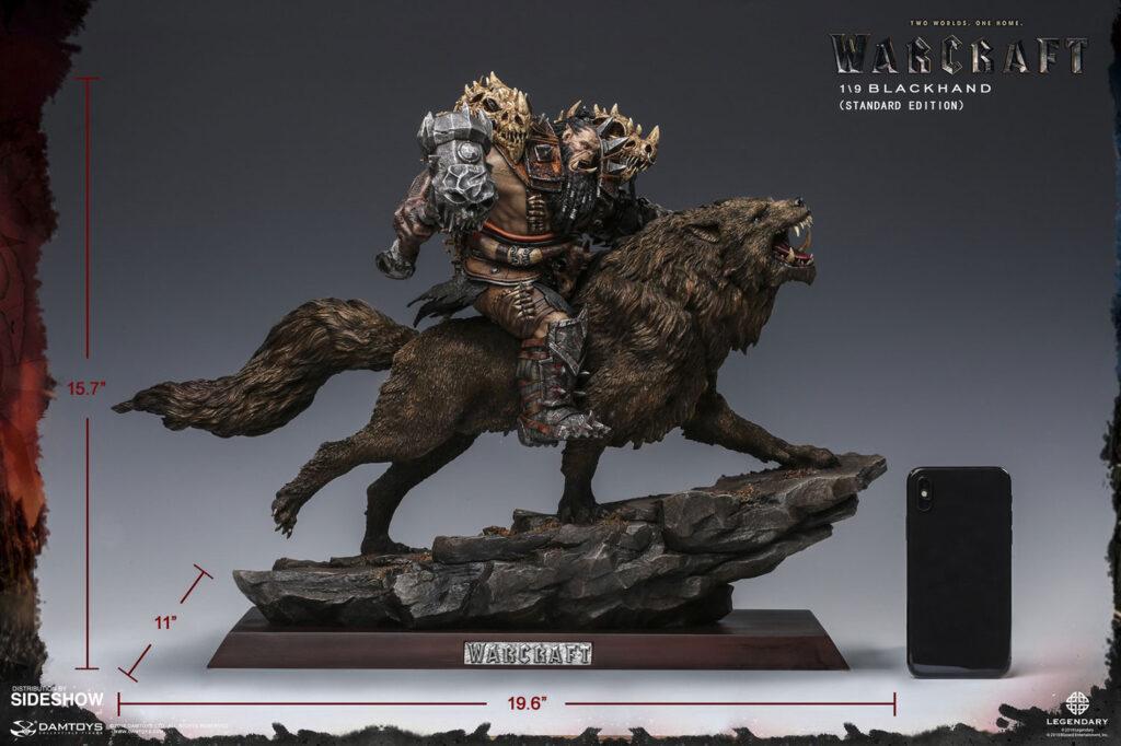 Blackhand_Riding_Wolf_Statue_WoW