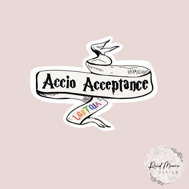 Accio_Acceptance_Vinyl_Sticker